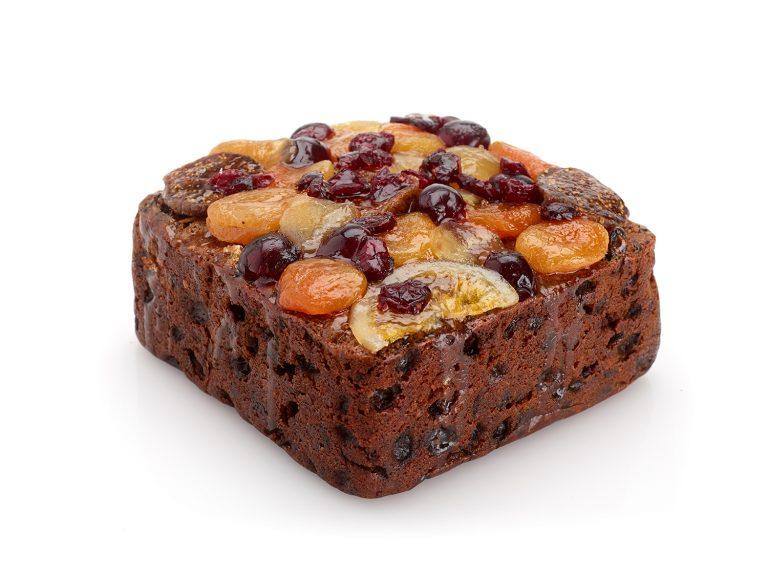 Bejewelled Fruit Cake