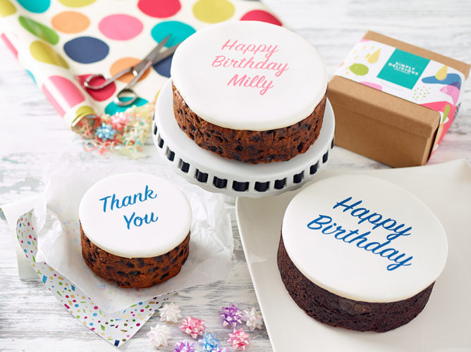 Tremendous Personalised Birthday Cake In A Gift Box The Simply Delicious Funny Birthday Cards Online Alyptdamsfinfo